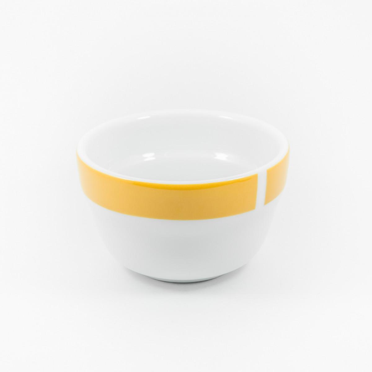 Ancap, CUPS MILLECOLORI AP-35862, Чашка фарфоровая для каппинга, желтая, 240 мл, высота 57 мм