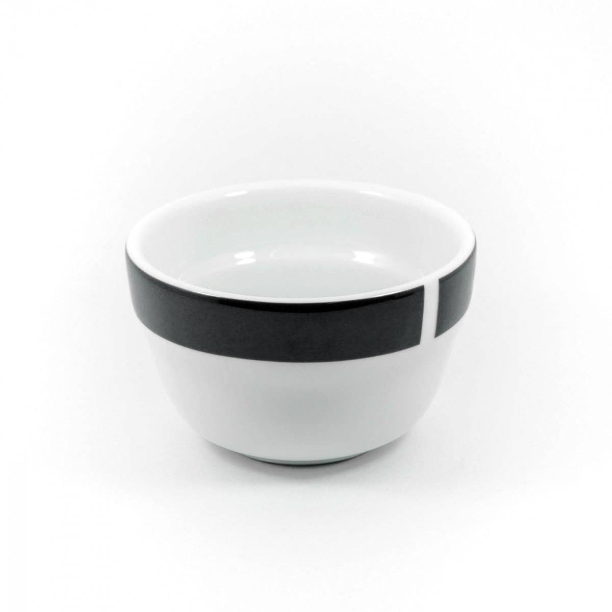 Ancap, CUPS MILLECOLORI AP-35866, Чашка фарфоровая для каппинга, черная, 240 мл, высота 57 мм
